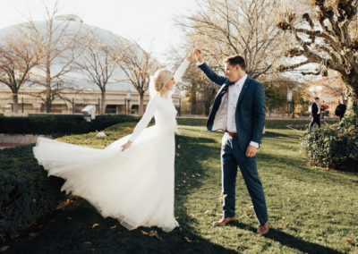 KATE & SAM | SALT LAKE CITY LDS TEMPLE WEDDING