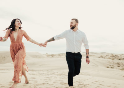 KENNADIE & SAM | UTAH SAND DUNES ENGAGEMENTS