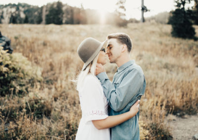 KATIE & COLTON | UTAH MOUNTAIN ENGAGEMENTS
