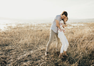 MADDIE & ZAK | UTAH LAKE ENGAGEMENTS
